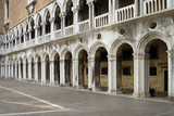 inside the Doges Palace courtyard poster