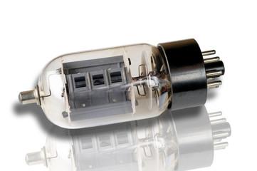 Old vacuum tube: 6DQ6 Power pentode.