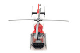 object on white - toy model helicopter poster