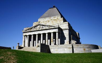 ANZAC - shrine of remembrance
