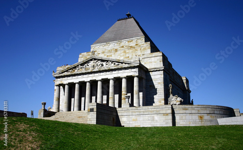 ANZAC - shrine of remembrance
