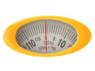 Weighing scale meter