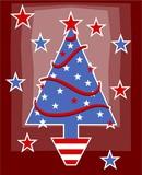 patriotic tree poster