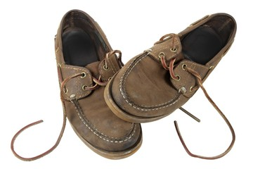 Zapatos gastados