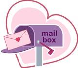 postal love poster
