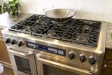 Luxury kitchen stove poster
