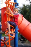 Five Year Old in a Playground