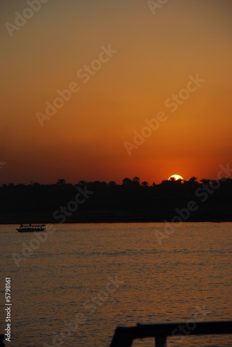 Sunset at River Nile Egypt 6