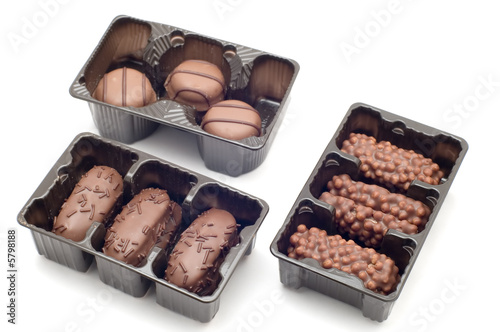 object on white - food - Chocolate candy