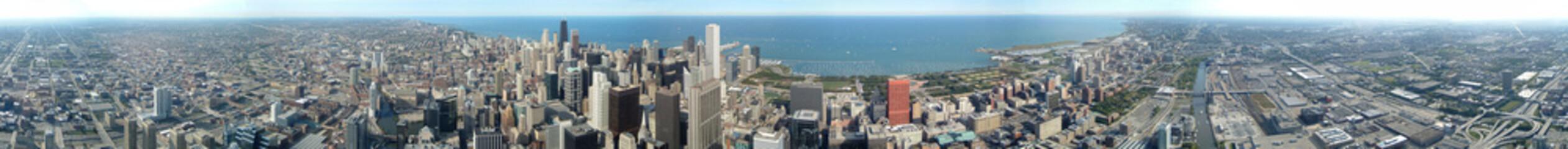 panoramique 360° de Chicago