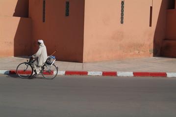 trotoir de Marrakech