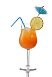 Fototapety Cocktail drink isolated against white background