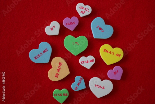Assorted Conversation Hearts