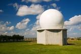Radio telescope for astronomical studies. poster