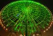 giant ferris wheel at night, Tokyo