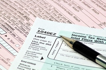 IRS 1040EZ Forms
