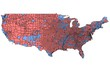 USA Map of 2000 Election