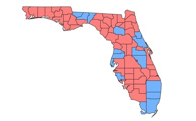 Florida 2000 Election Results