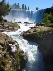 Wasserfall, Saltos de Laja, Chile, Südamerika