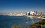 Tel Aviv city from Israel poster