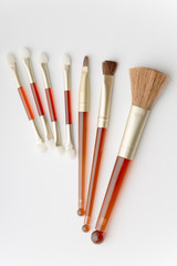Set of facial brushes