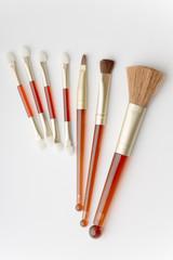 Set of facial brushes