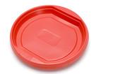object on white - kitchen utensil - plastic plate poster