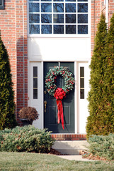 Frontdoor with Wreath