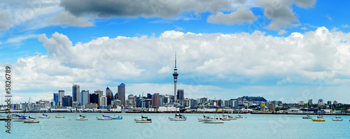 The beautiful Auckland skyline