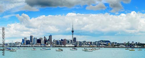 Keuken foto achterwand Nieuw Zeeland The beautiful Auckland skyline