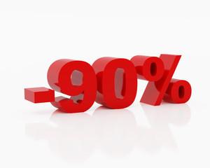 Ninety percent