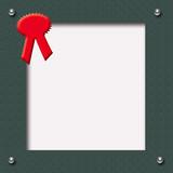 scrapbook red ribbon poster