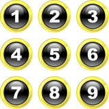 number icons poster