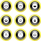 smilie icons poster