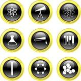 science icons poster