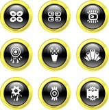 retro icons poster