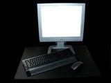 ordinateur de bureau poster