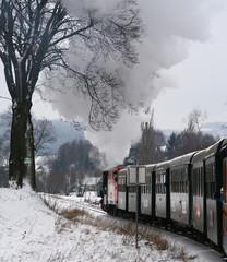 Waldviertler Schmalspurbahn im Winter