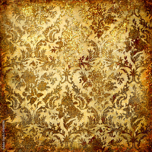 wallpaper vintage pattern. vintage grunge ackground with
