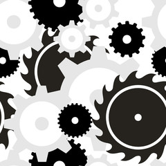 Background seamless - Gears