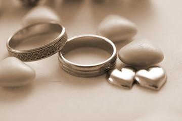 mariage sépia
