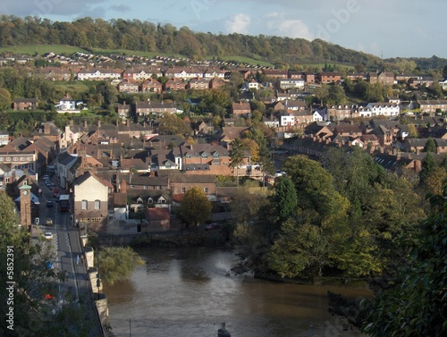 the River Severn in Bridgnorth