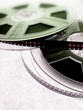 Film reels. Cinema concept