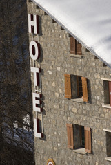 Hotel d'altitude.