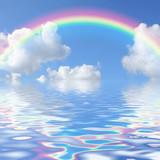 Fototapety Rainbow Seascape