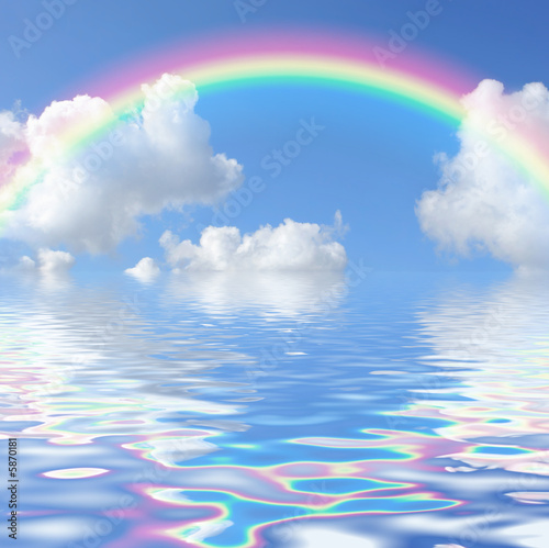 Rainbow Seascape  - 5870181