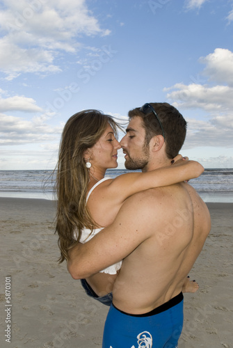 Couple in the Sand
