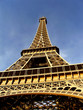Eiffel Tower, a closeup at daylight - Paris