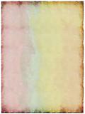 Watercolor foil poster