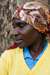 Portrait of Zimbabwean African young woman